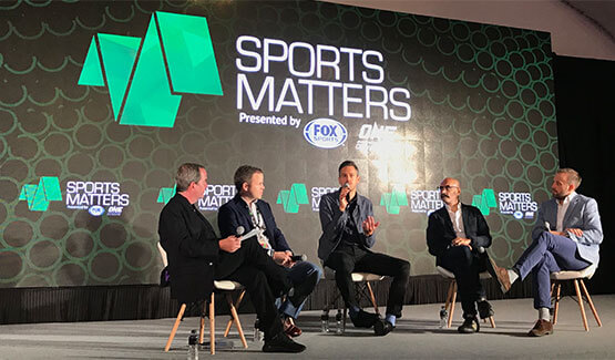 James Miner, CEO Video Assure talks with Sports Matters panel